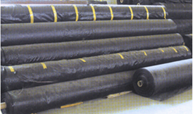 Geotextile woven rol